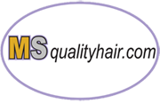 Best quality human hair extensions for black women Logo